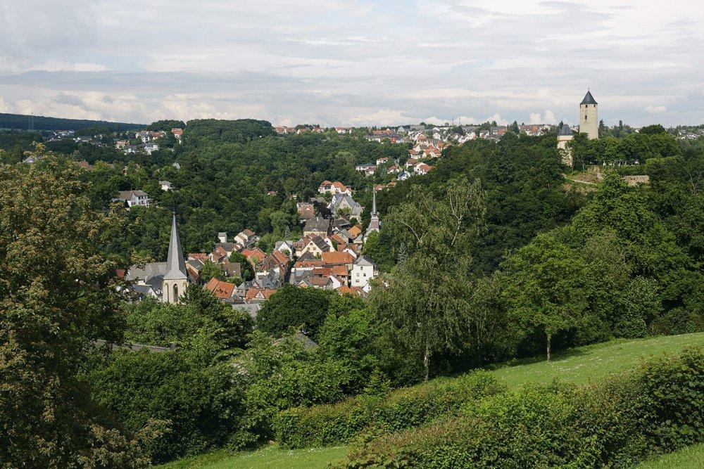 Panorama-Bad Stromberg - Freibad